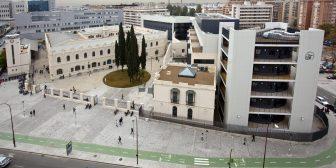 Vista aérea del Campus Pirotecnia de la Universidad de Sevilla